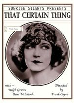 Affiche That certain thing