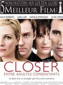 Affiche Closer, entre adultes consentants