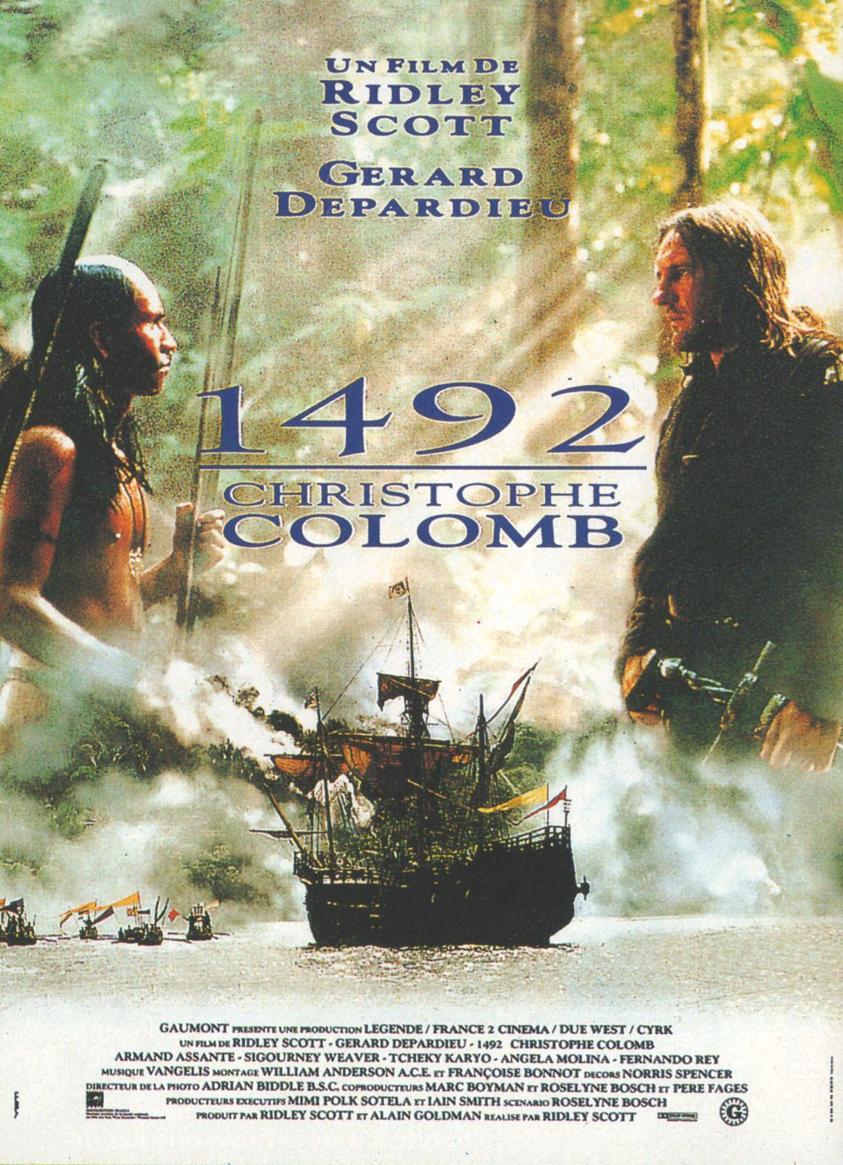 Assez 1492 : Christophe Colomb - Film (1992) - SensCritique CJ14