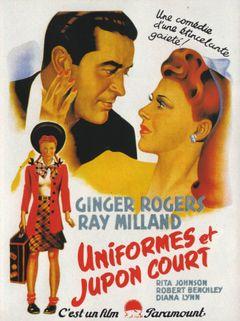 Affiche Uniformes et Jupons courts