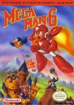 Jaquette Mega Man 6