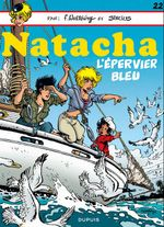 Couverture L'épervier bleu - Natacha, tome 22