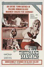 Affiche Deux mille maniaques