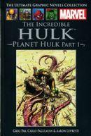 Couverture The Incredible Hulk : Planète Hulk, acte 1