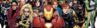 Cover Les indispensables chez Marvel Comics