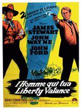 Affiche L'homme qui tua Liberty Valance