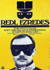 Affiche Colonel Redl