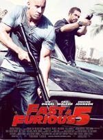 Affiche Fast & Furious 5