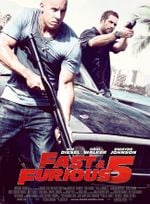 Affiche Fast and Furious 5