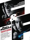 Affiche Fast & Furious 4