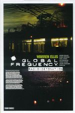 Couverture Radio-détonation - Global Frequency, tome 2