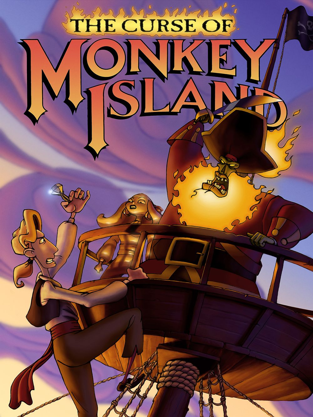 the curse of monkey island 1997 jeu vid o senscritique. Black Bedroom Furniture Sets. Home Design Ideas