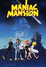 Jaquette Maniac Mansion