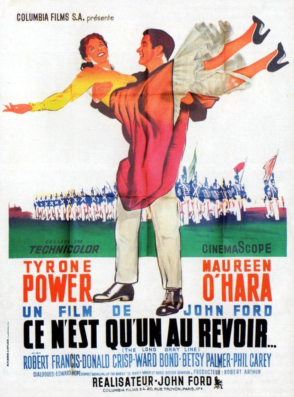 Affiches Posters Et Images De Ce N Est Qu Un Au Revoir 1955