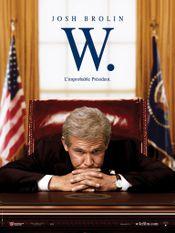Affiche W. : L'Improbable Président
