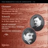 Pochette The Romantic Violin Concerto, Volume 14: Glazunov: Violin Concerto in A minor, op. 82 / Meditation, op. 32 / Mazurka-oberek / Sc