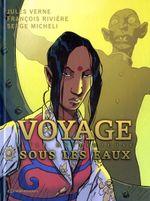 Couverture L'Île mystérieuse - Voyage sous les eaux, tome 2