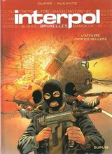 Couverture Bruxelles, l'affaire Patrice Hellers - Interpol, tome 1