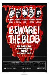 Affiche Attention au Blob !