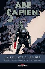 Couverture La Ballade du Diable - Abe Sapien, tome 2