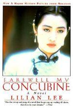 Couverture Adieu ma concubine