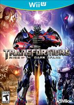 Jaquette Transformers : Rise of the Dark Spark