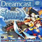 Jaquette Skies of Arcadia