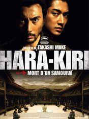 Affiche Hara-Kiri : Mort d'un samouraï