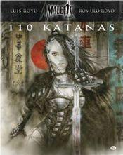 Couverture 110 katanas - Malefic, tome 2