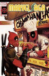 Couverture Deadpool massacre Deadpool - Marvel Saga (2e série), tome 2