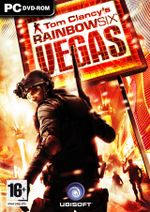 Jaquette Rainbow Six : Vegas