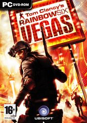 Jaquette Rainbow Six: Vegas