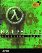 Jaquette Half-Life : Opposing Force