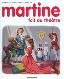 Couverture Martine fait du théâtre