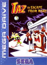 Jaquette Taz : Escape From Mars