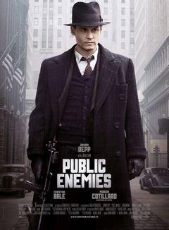 Affiche Public Enemies