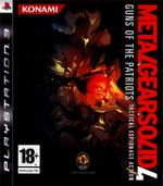 Jaquette Metal Gear Solid 4: Guns of the Patriots