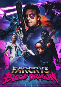 Jaquette Far Cry 3 : Blood Dragon