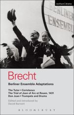 Couverture Berliner Ensemble Adaptations
