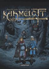 Couverture L'Antre du Basilic - Kaamelott, tome 8