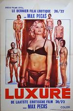 Affiche Luxure