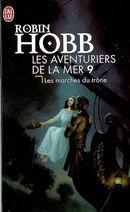 Couverture Les Marches du trône - Les Aventuriers de la mer, tome 9