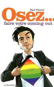 Couverture Osez... faire votre coming out