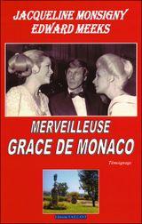 Couverture Merveilleuse Grace de Monaco