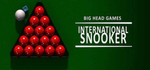 Jaquette International Snooker