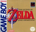 Jaquette The Legend of Zelda : Link's Awakening
