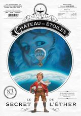 Couverture Le Secret de l'éther - Le Château des étoiles, tome 1