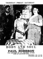 Affiche Body and Soul