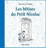 Couverture Les bêtises du Petit Nicolas