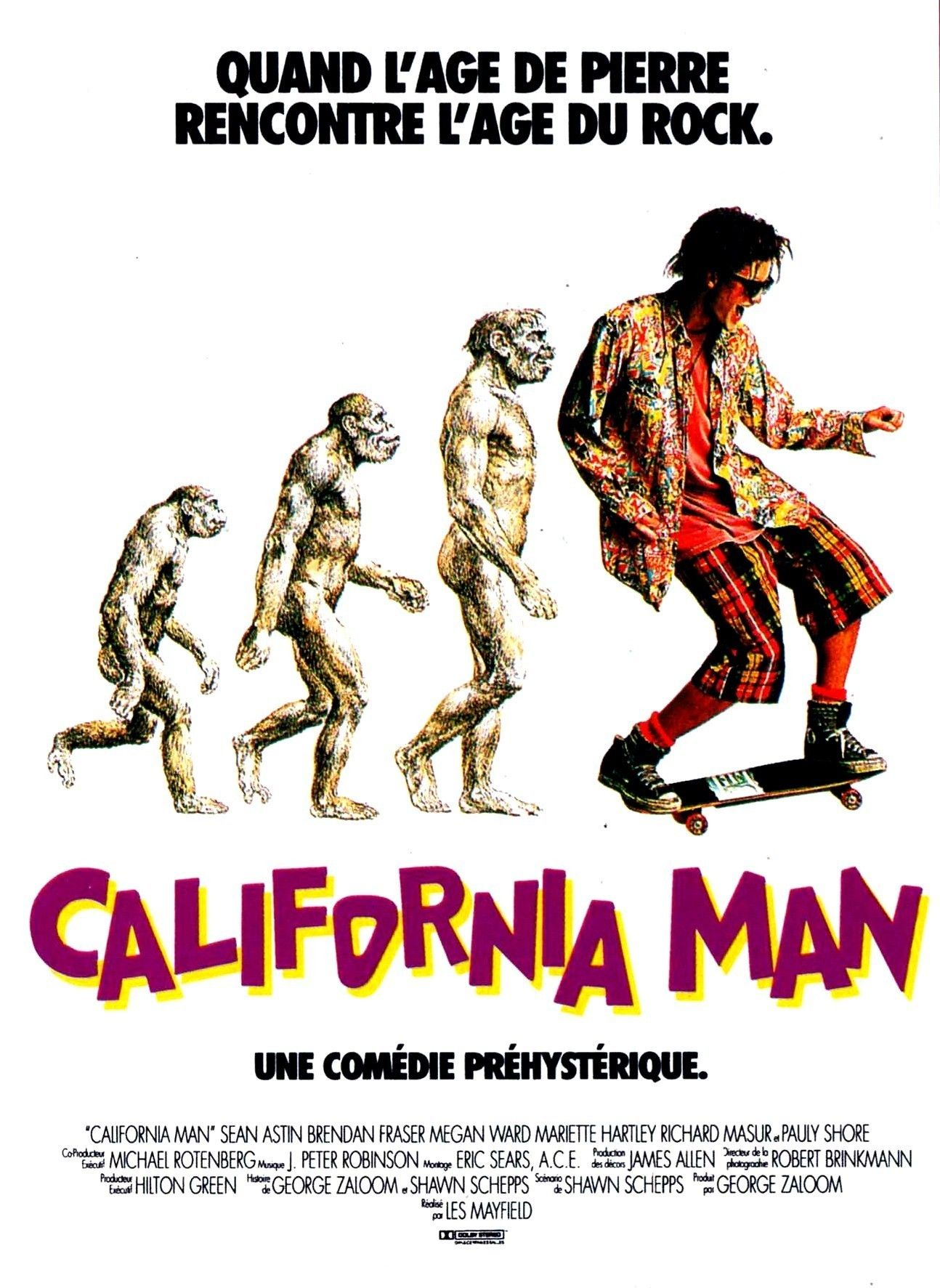 California Man affiche